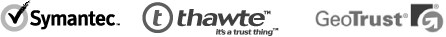 Symantec - Thawte - GeoTrust