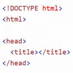 Header einer Html-Datei